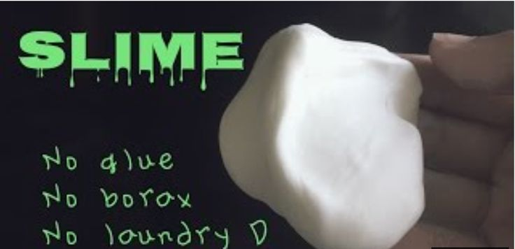 how to make slime with detergent and glue instructions