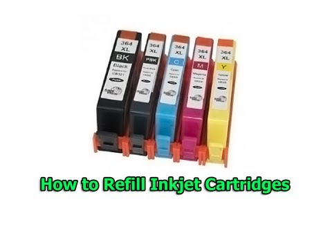hp color cartridge 22 refill instructions
