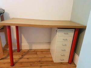 ikea metal desk instructions