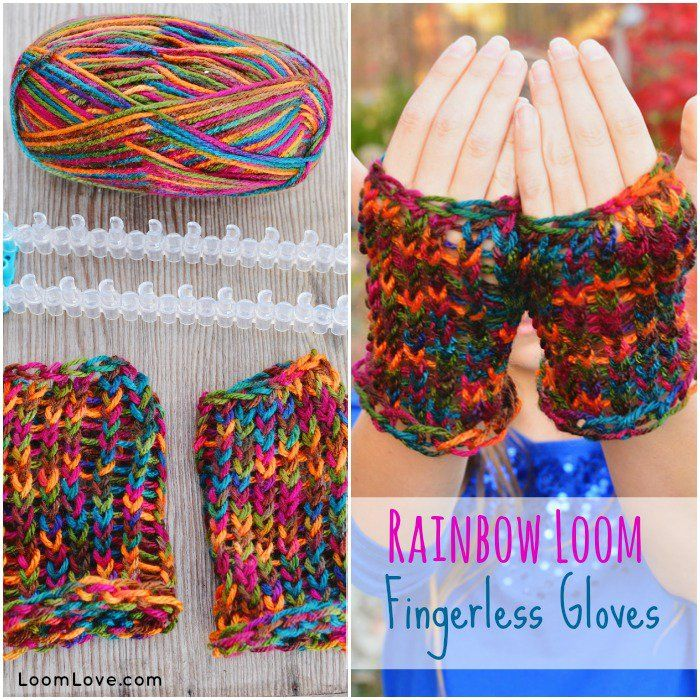 infinity scarf loom instructions