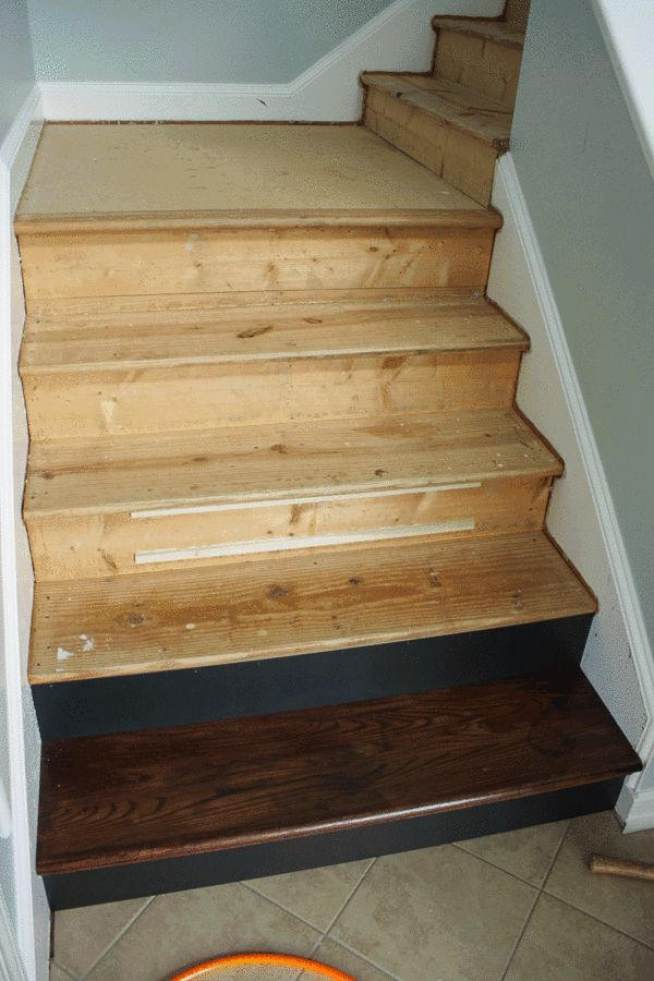 install hardwood on stairs instructions