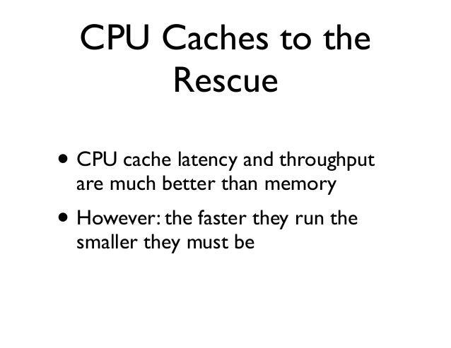 instruction latency vs cpu throughput
