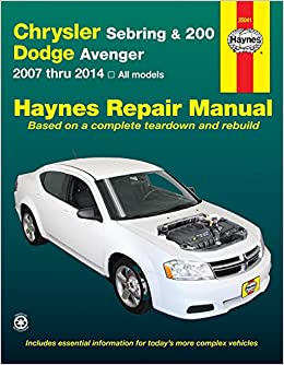 instruction on jack 2010 dodge avenger