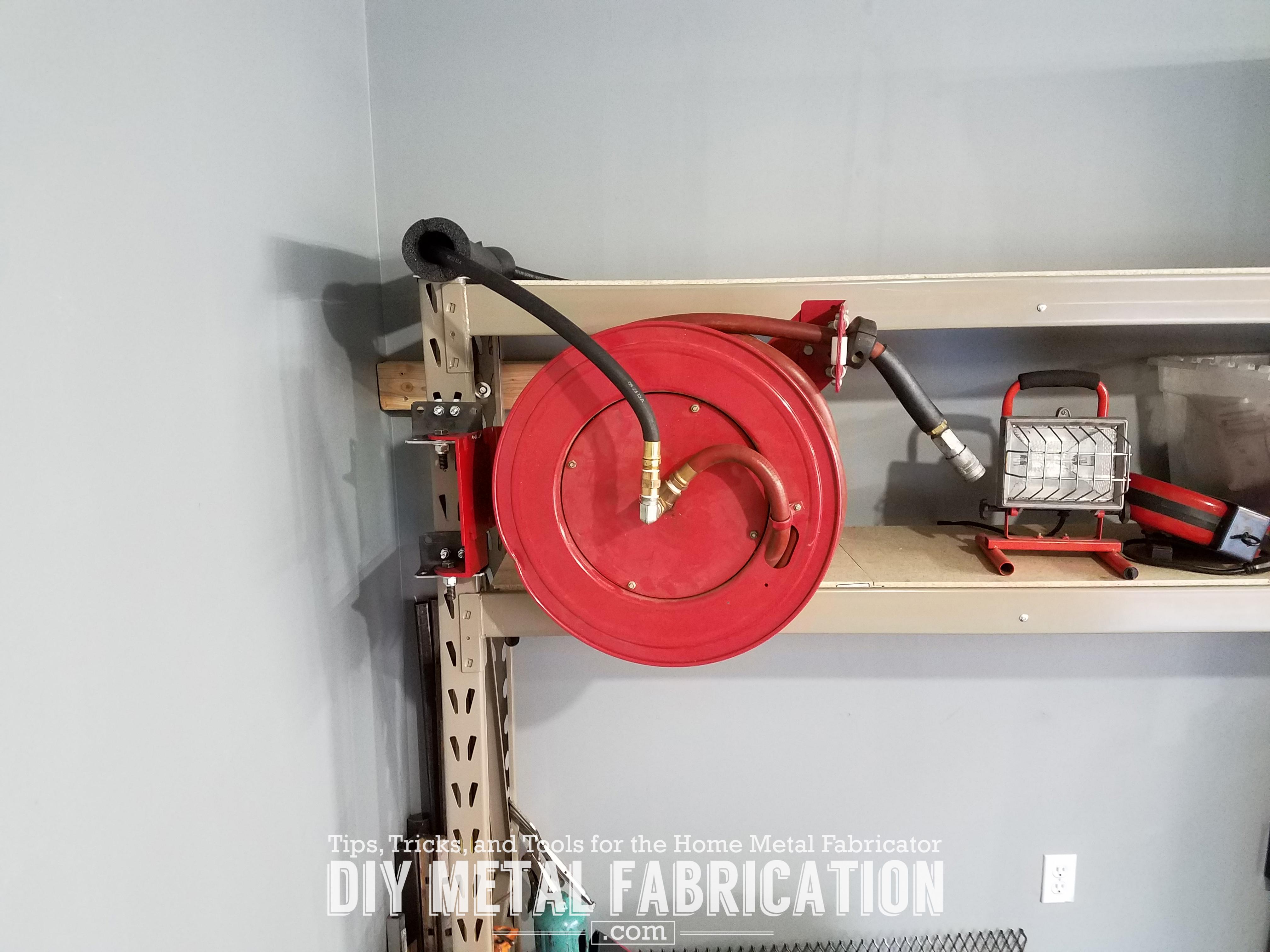 instructions for installing yardworks hose reel