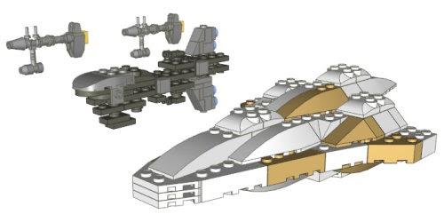 instructions for lego mc80