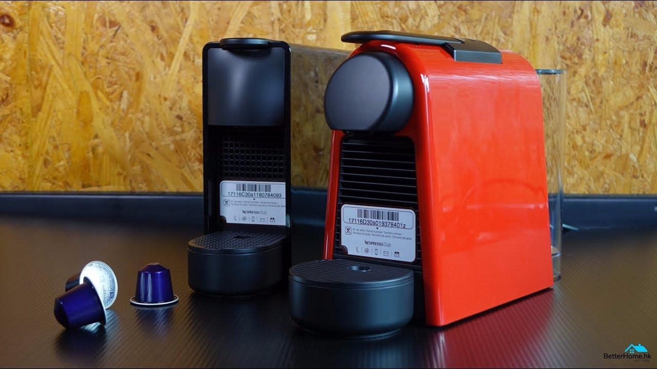 instructions for nespresso essenza machine