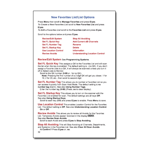 instructions for uniden scanner