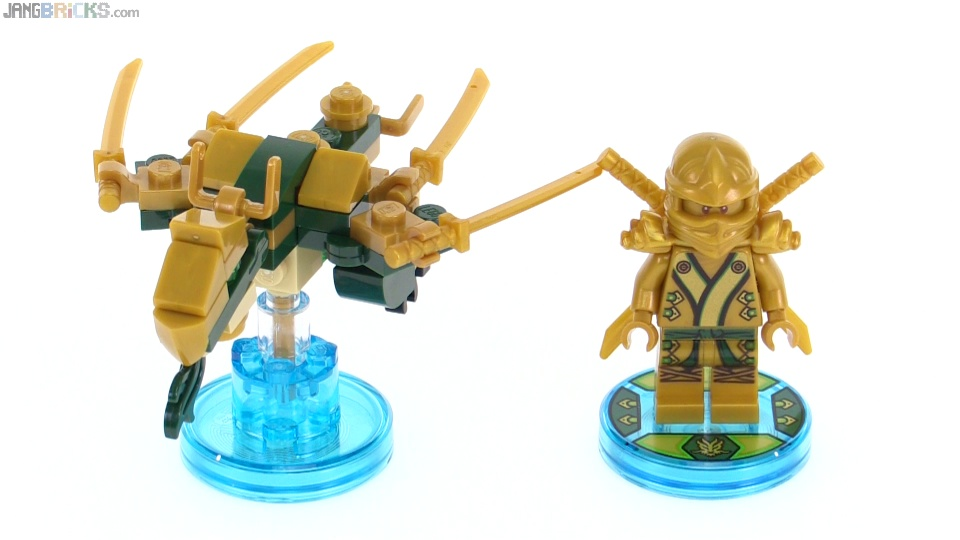 instructions on how to build lego dimensions golden dragon