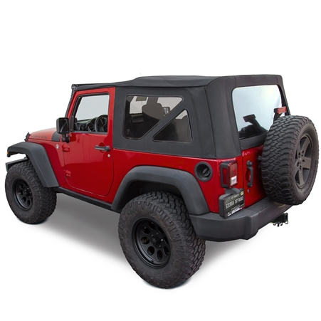 jeep wrangler 2 door soft top instructions