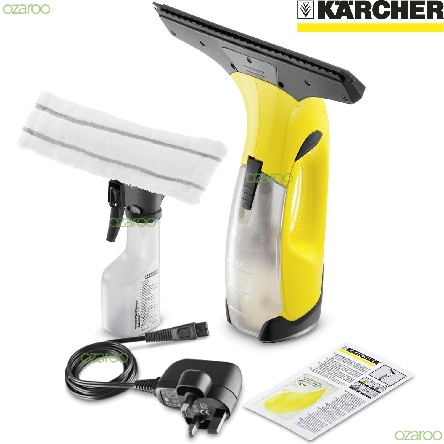 karcher window cleaner concentrate instructions
