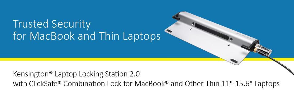 kensington clicksafe combination laptop lock instructions