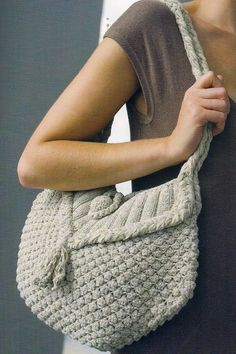 knit tote bag pattern instructions
