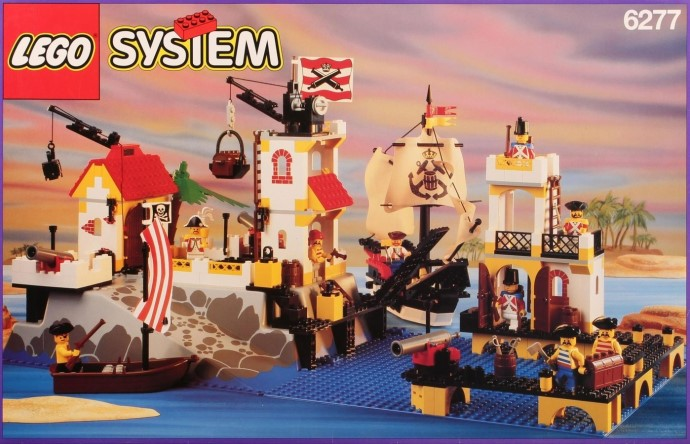 lego 6274 pirate ship instructions