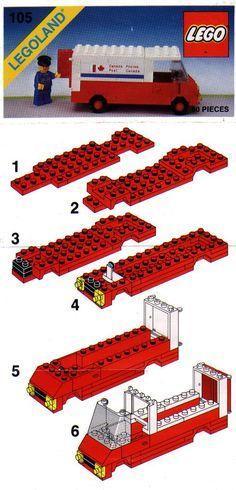 lego backhoe 6662 instructions