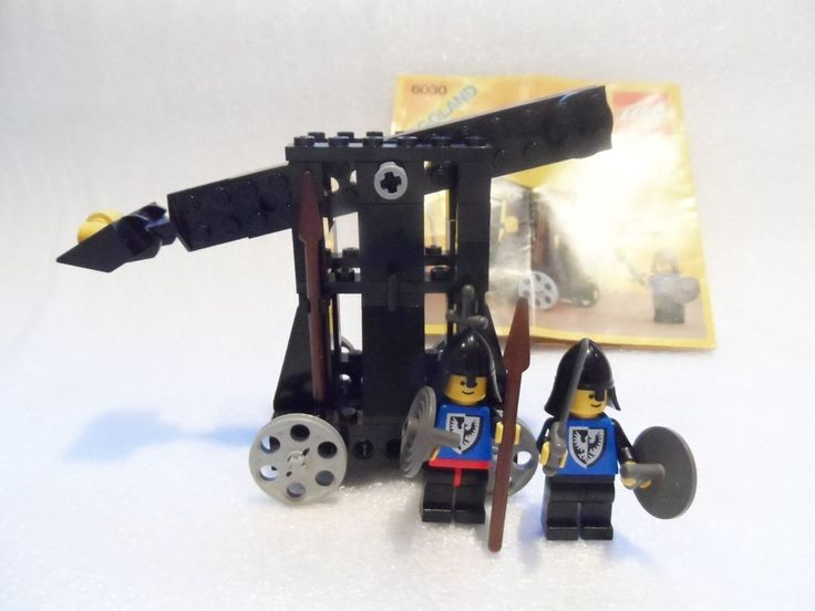 lego catapult instructions castle