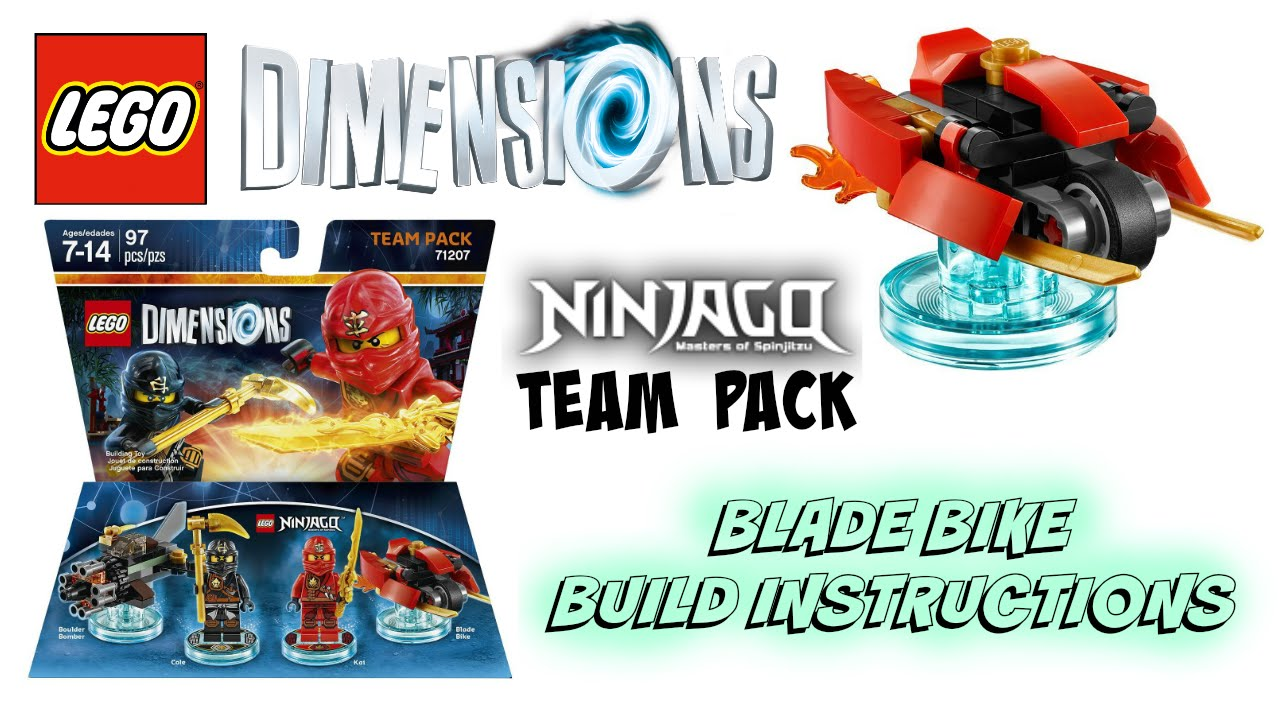 lego dimensions building instructions 71231