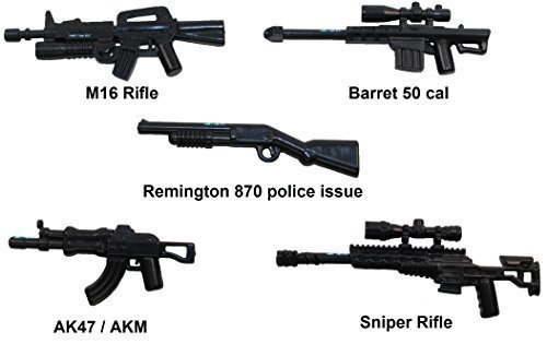 lego easy minifigure gun instructions
