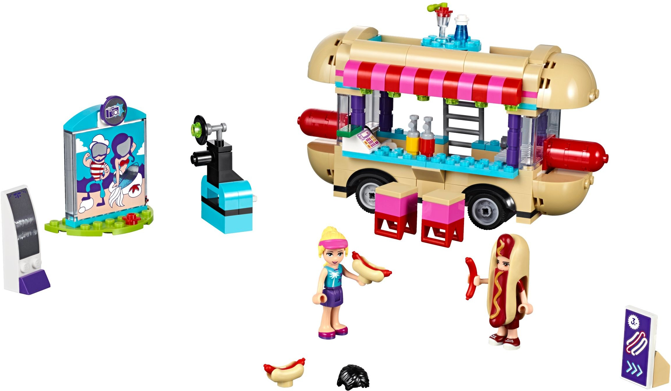 lego friends dog grooming instructions