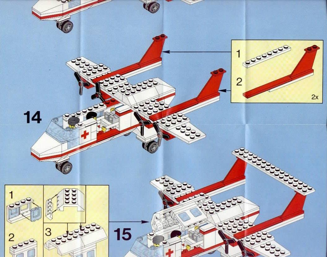lego instructions simple plane