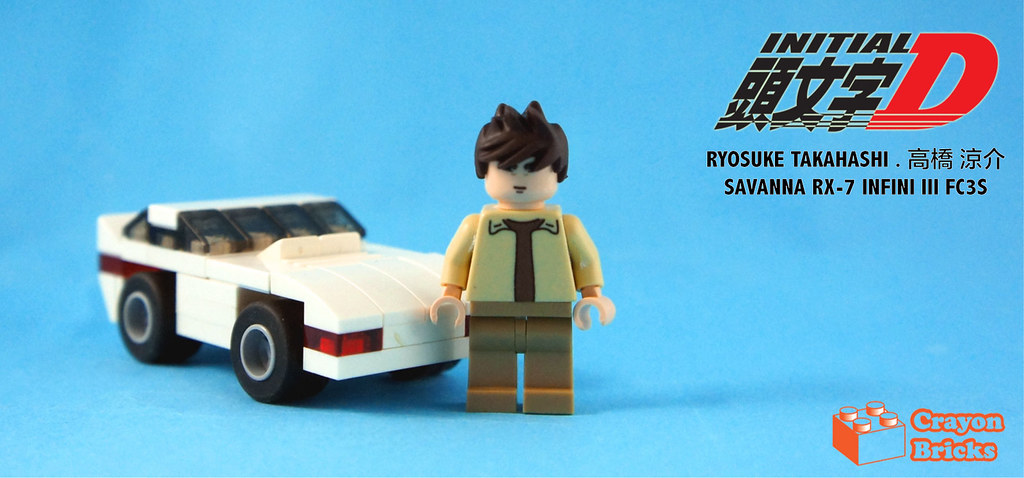 lego mazda rx7 fc3s instructions