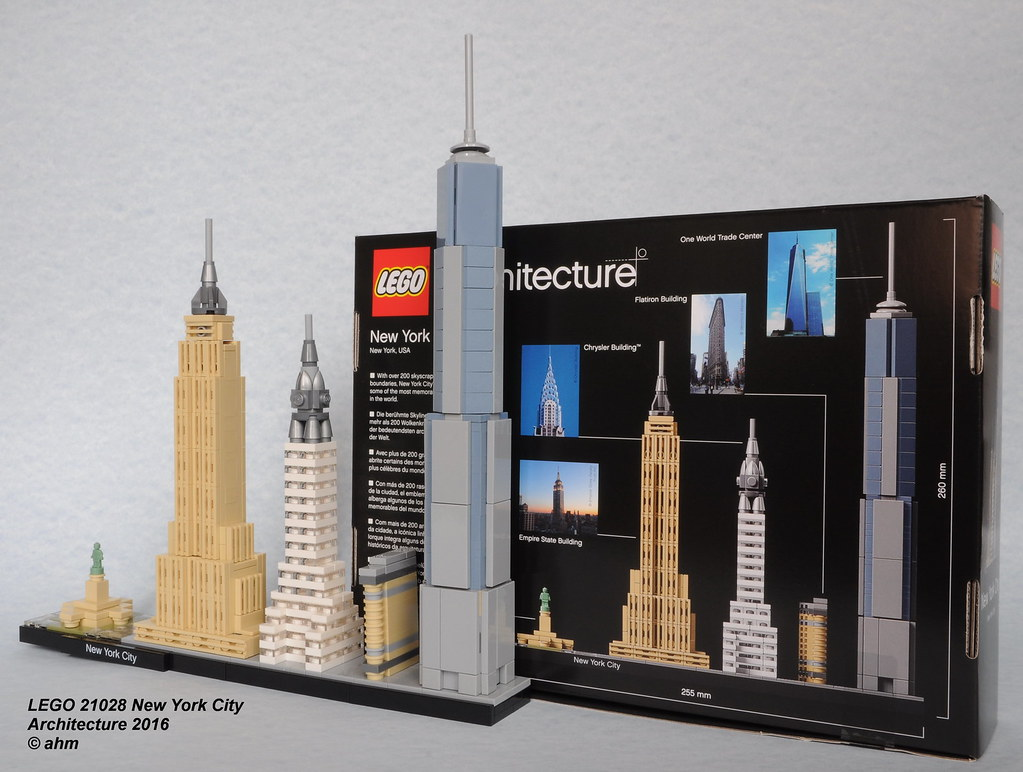 lego new york instructions