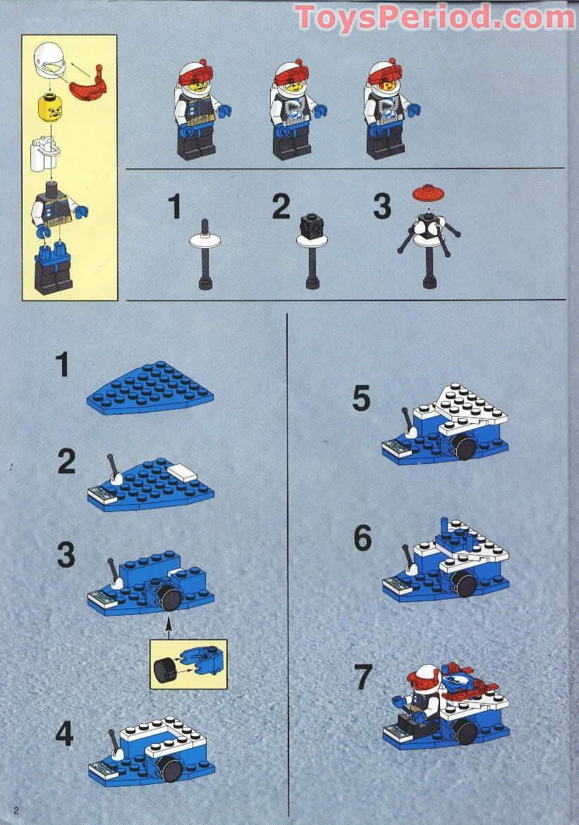 lego planet express instructions