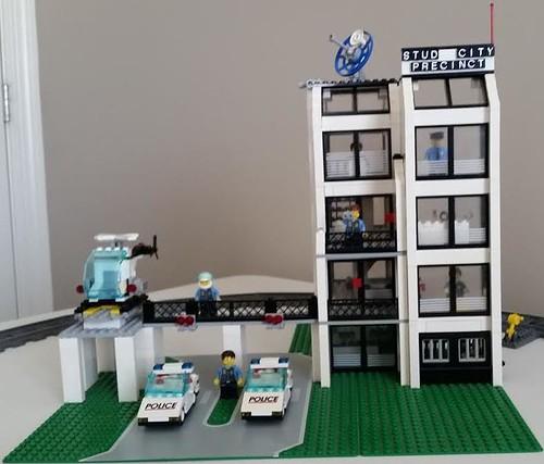 lego police station instructions 6398