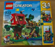 lego treehouse adventures instructions