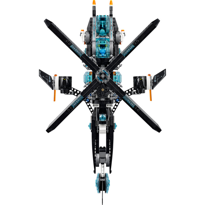 lego ultra agents ultracopter instructions