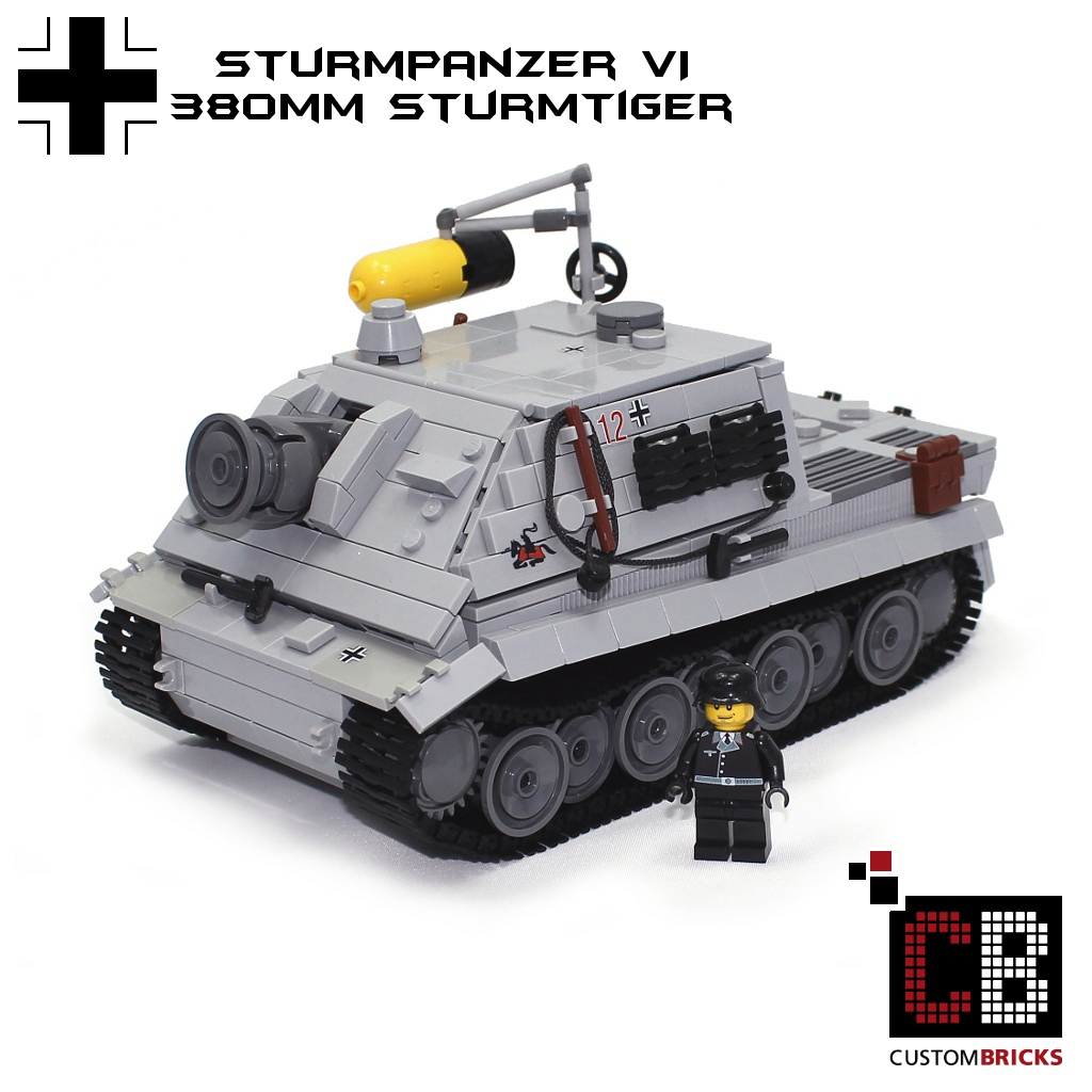 lego wwii panzer tank bauanleitung instruction
