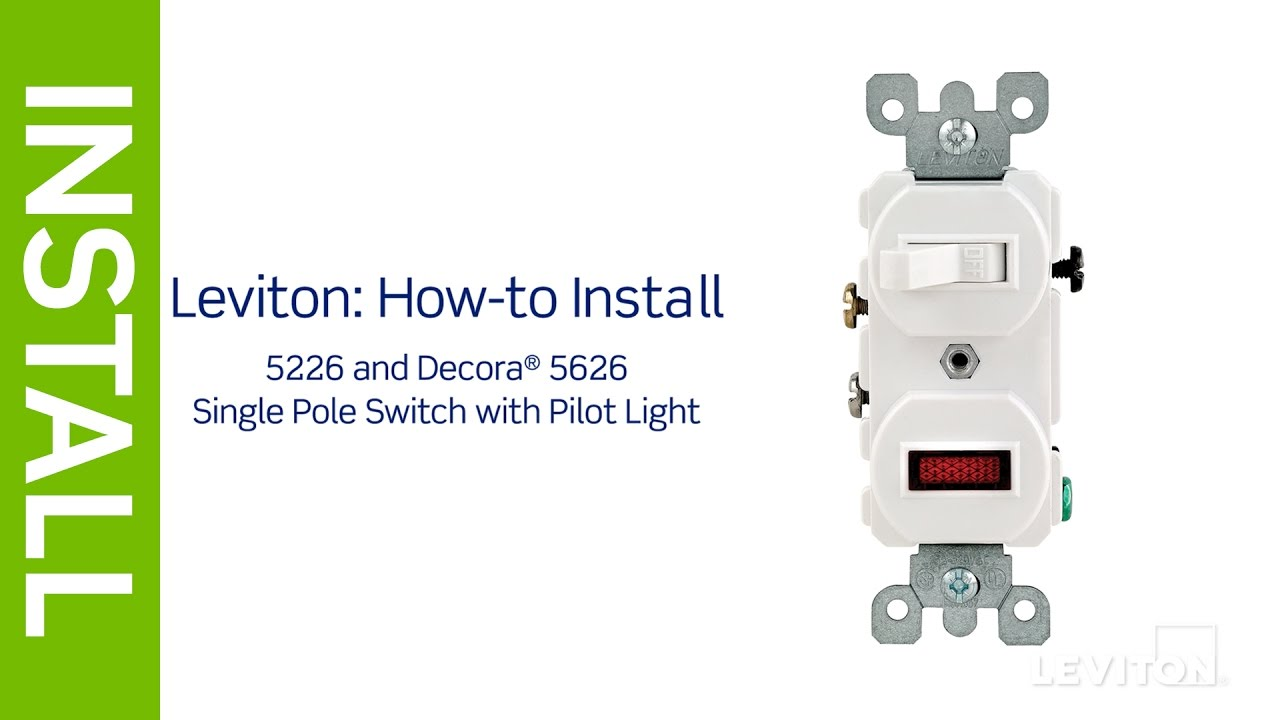 leviton 5601 installation instructions