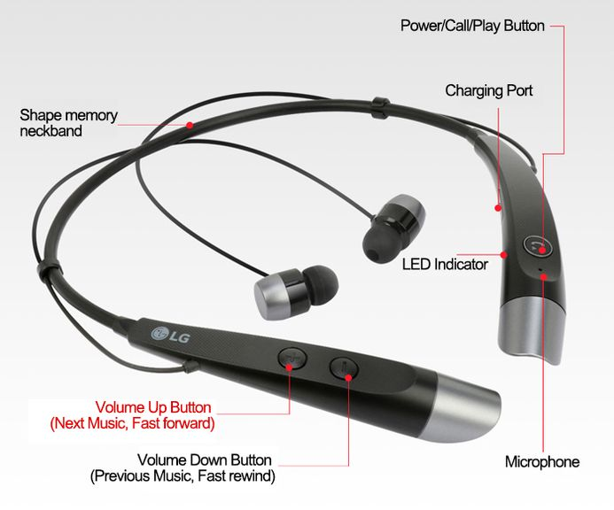lg bluetooth headset hbs 730 instructions