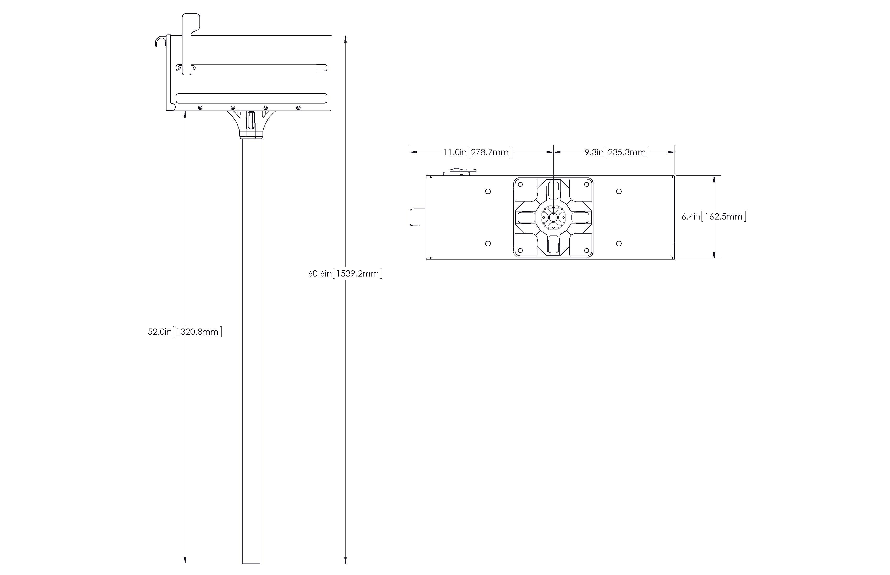 mb1 mailbox and post kit instructions