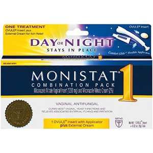 monistat 1 day or night instructions