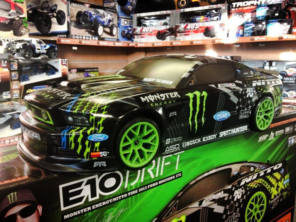 monster drift rc car instructions