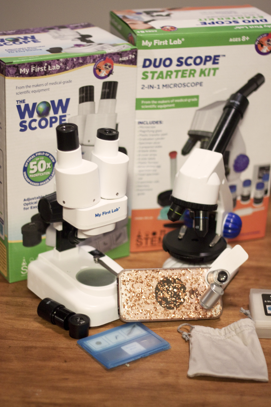 my first lab duo-scope microscope instructions