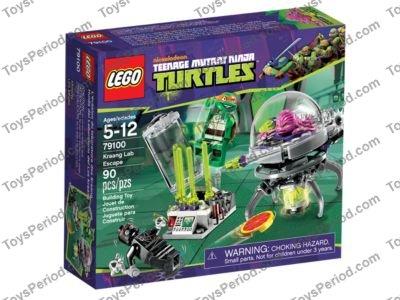 ninja turtle lego set instructions