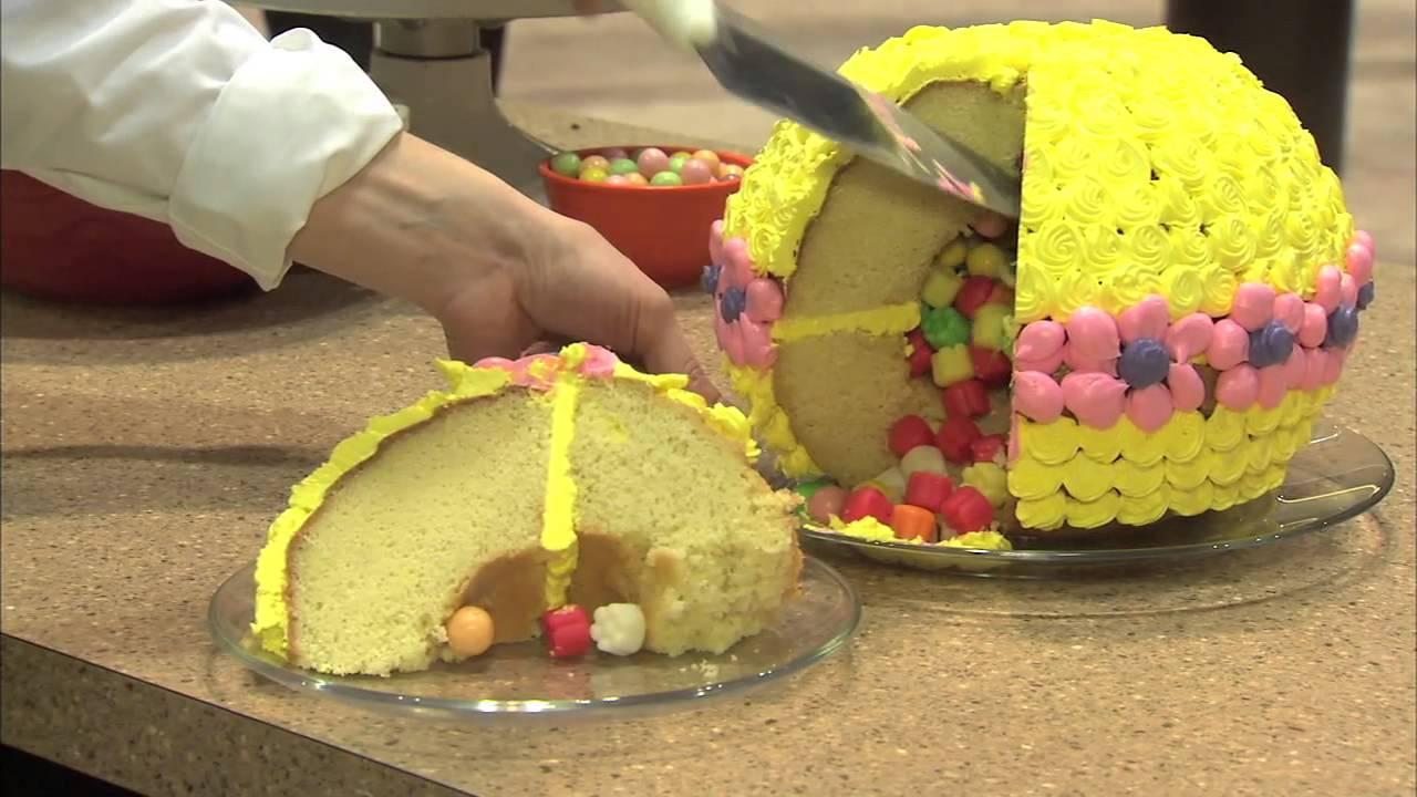 nordic ware pinata cake pan instructions