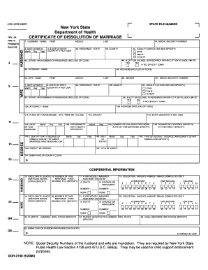 nys divorce forms instructions
