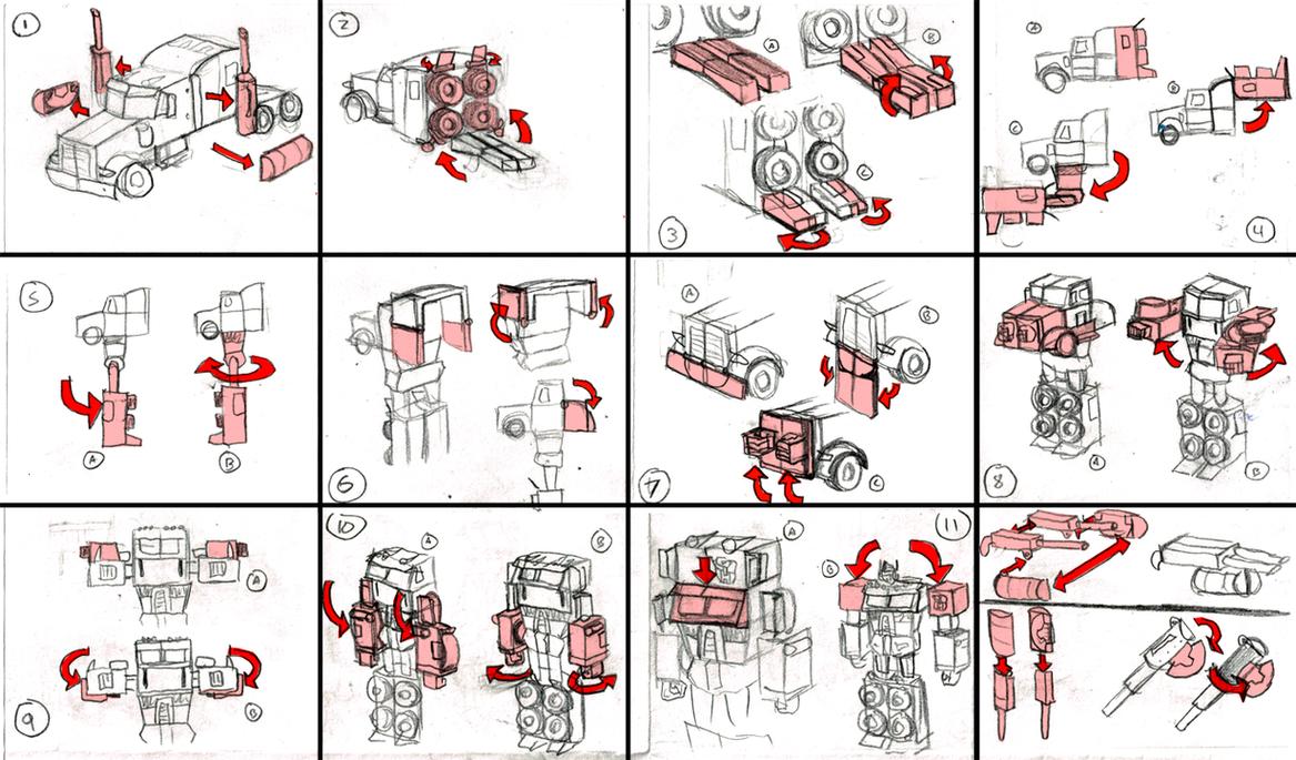 optimus prime altenator instruction
