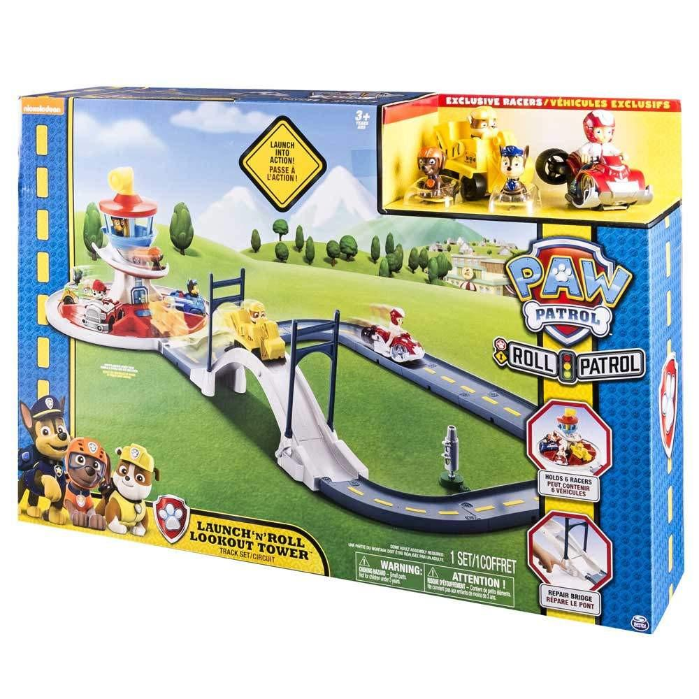 paw patrol launch and roll lookout tower instructions