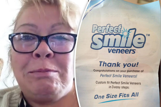 perfect smile teeth instructions