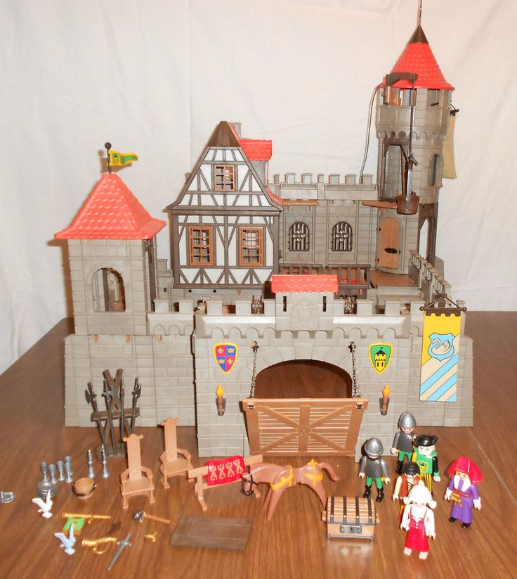 playmobil castle 3123 instructions