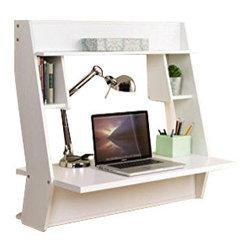 prepac designer floating desk instructions