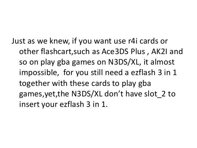 r4i gold 3ds plus instructions
