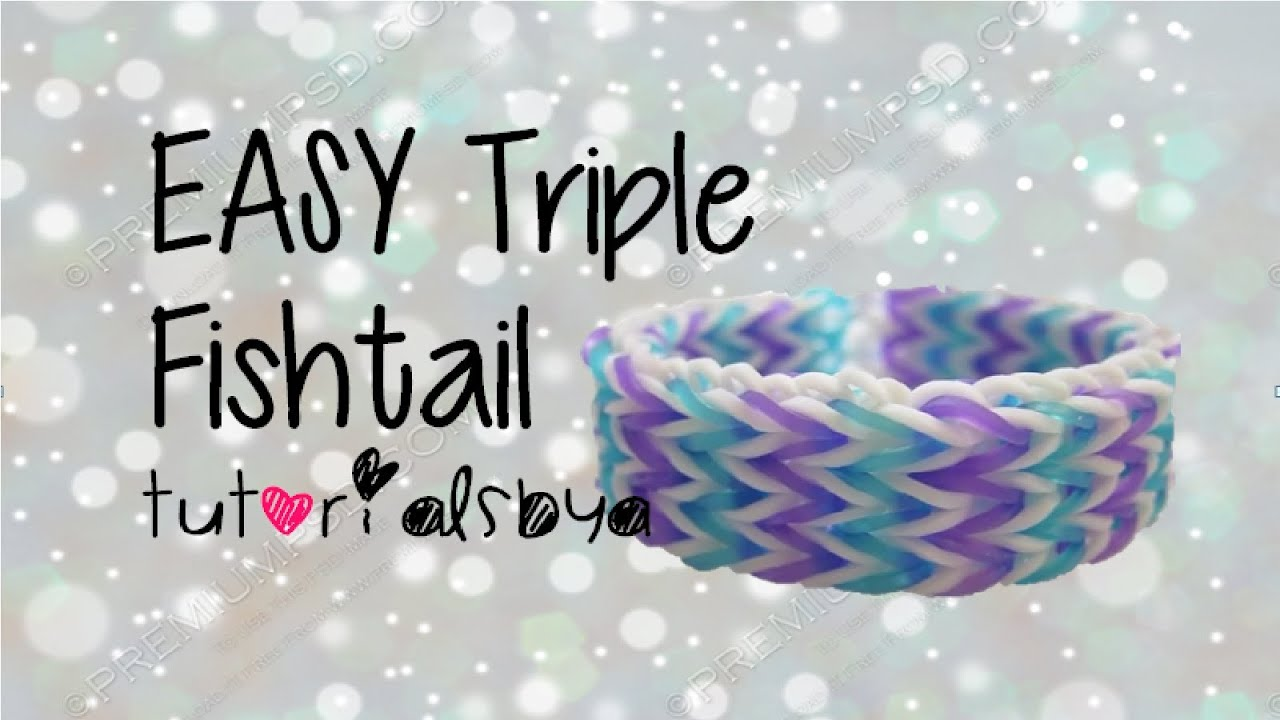 rainbow loom charm bracelet instructions