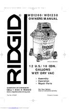 ridgid power drill instructions