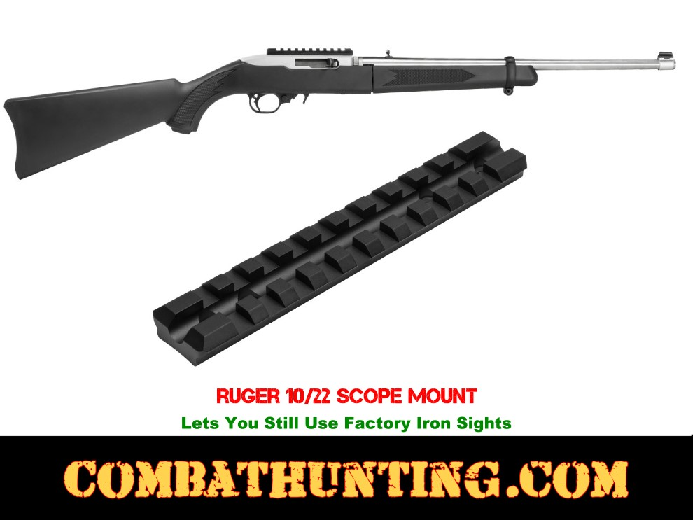 ruger 10 22 scope mounting instructions