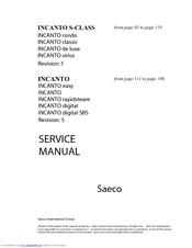 saeco incanto classic descaling instructions