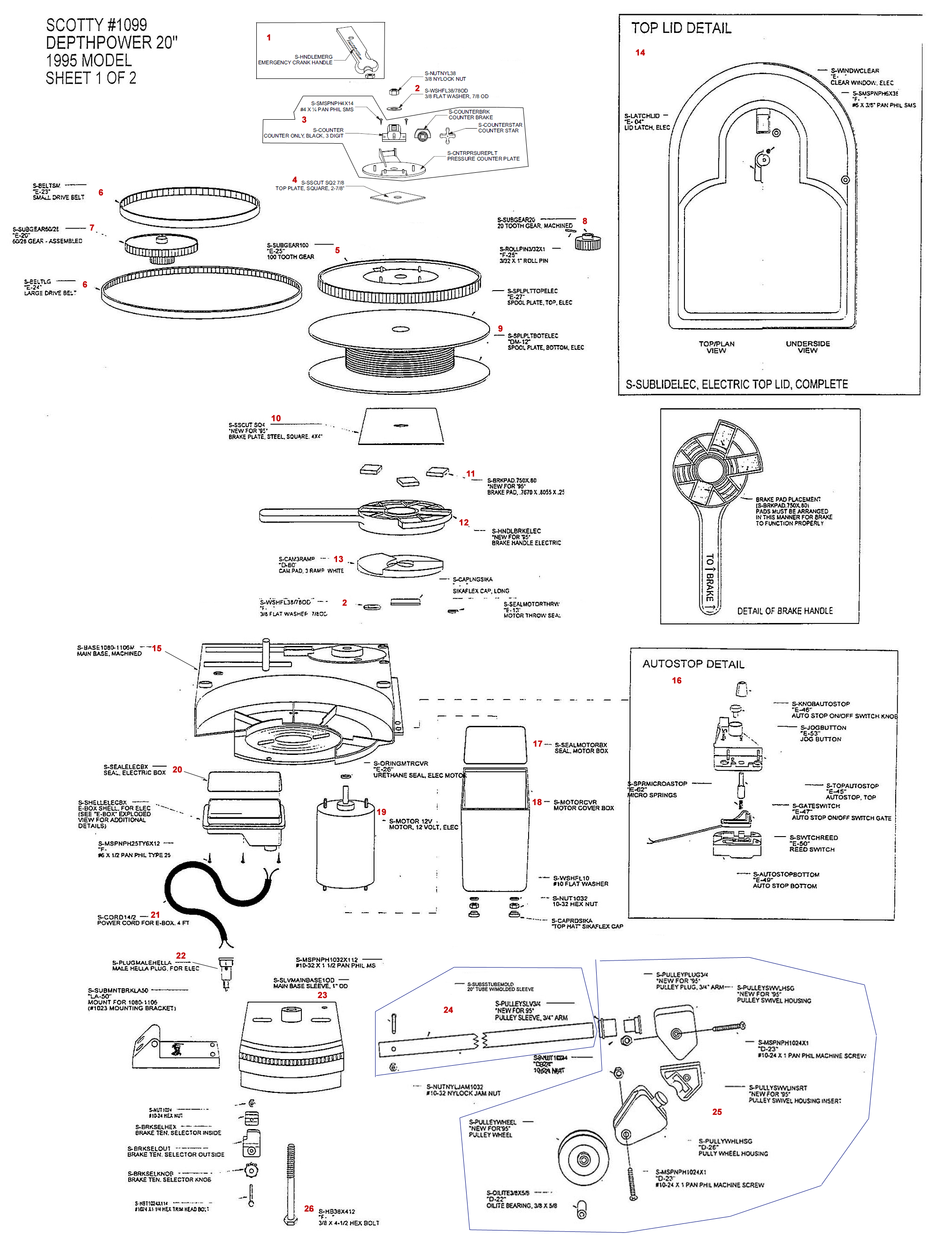 scotty electric downrigger wiring instructions